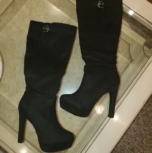 Just Fab black boots
